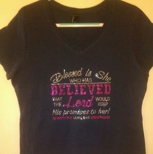 Tops - Blessed Is She T-Shirt